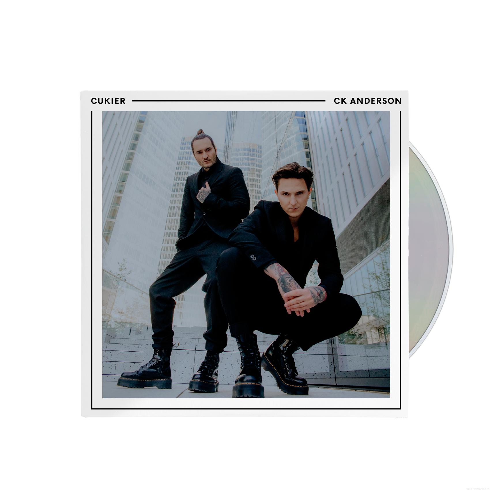 """Preorder: Cukier - """"CK Anderson"""" CD z autografem i spersonalizowaną wlepką  Sklep z muzyką"""